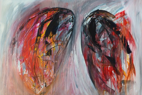 Christine Koellhofer_Leaving Sodom And Gomorrha no. 03_100 x 140 cm_acrylics and oil on canvas_2014 800p